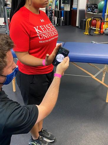 60 to 80 degree measurement with wrist flex
