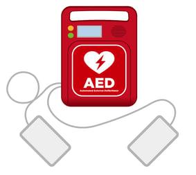 an AED machine