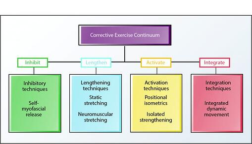 NASM Corrective Exercise Continuum