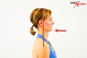 Head retraction movement