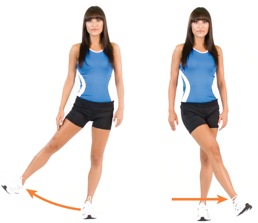 Leg adduction and abduction