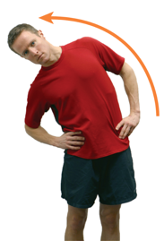 Spine lateral flexion