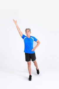 Single leg balance with reach