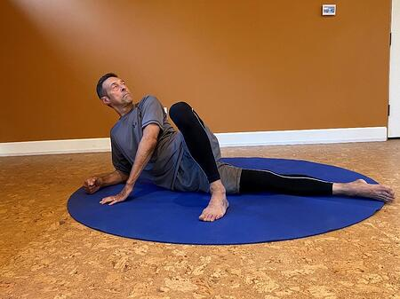 target calf ankle foot connection by adjusting stretch