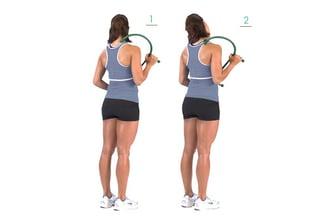 Inhibit/self-myofascial release overactive muscles