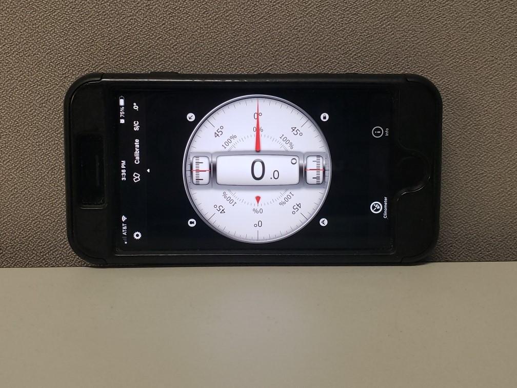 Smartphone Inclinometer Application - blog