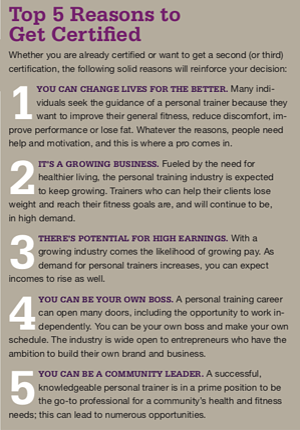 Top 5 Reasons to Get Certified