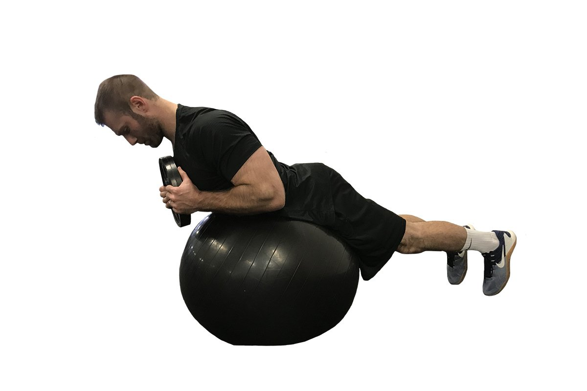 stability ball exercise for the abs
