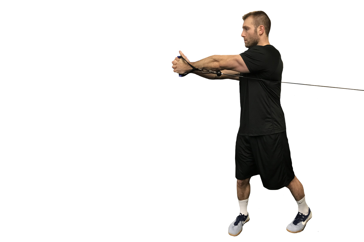 demonstration of a cable rotation for the abs
