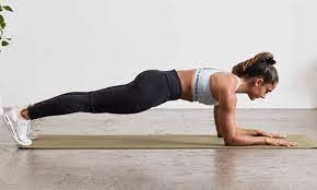 a standard plank