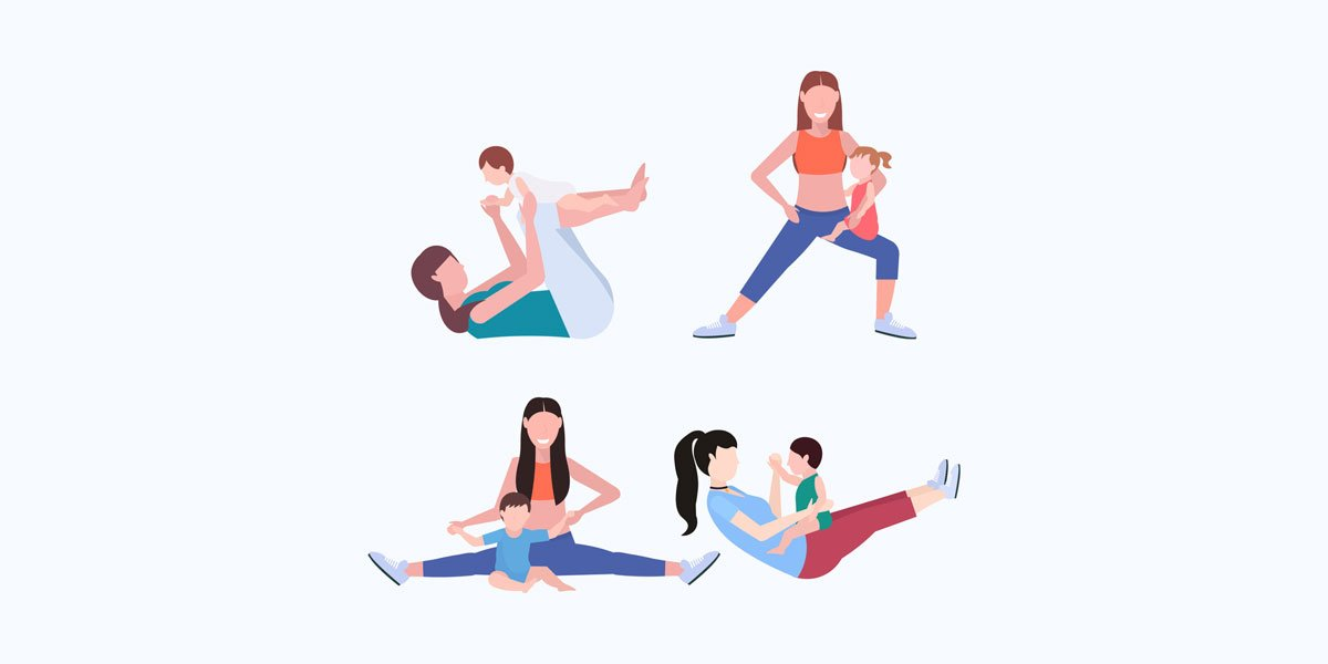 Progressive Exercises For Post Pregnancy