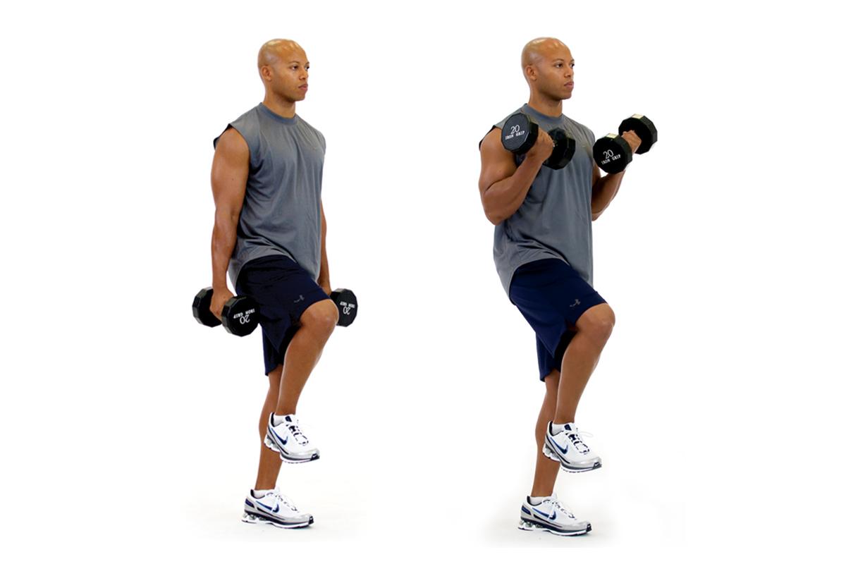Single-Leg Biceps Curl