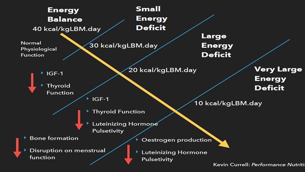 energy balance chart